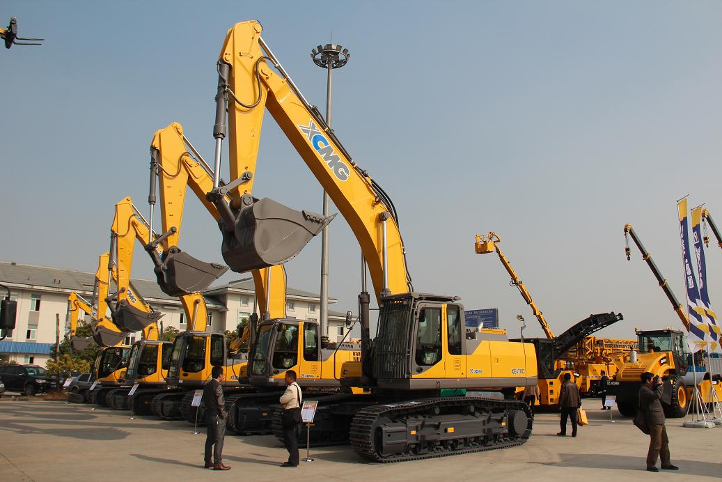 XCMG hot sale excavators